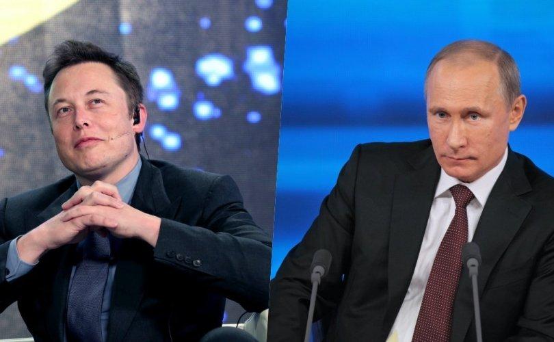Путинтэй ярилцах Илон Маскын саналыг хэлэлцэж үзэхээр болжээ