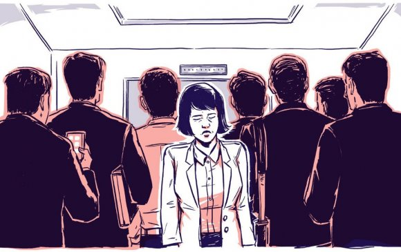 Япон эмэгтэйчүүдийг чимээгүй байх нөхцөлтэйгээр намын хуралд суулгана