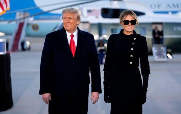 Меланиа Трамп нөхрөө үргэлж магтаж, зоригжуулдаг