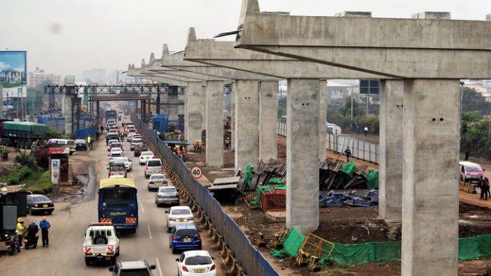 """Кенийн нийслэл 550 сая доллараар замын түгжрэлээ """"шийднэ"""""""