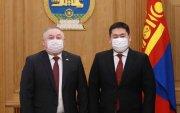 Ерөнхий сайд Л.Оюун-Эрдэнэ Казахстан улсын Элчин сайдыг хүлээн авч уулзав