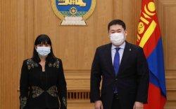 Ерөнхий сайд Бүгд Найрамдах Унгар улсын элчин сайд Борбала Обрушанскиг хүлээн авч уулзав