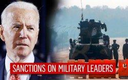 АНУ Мьянмарын цэргийн удирдагчдад хориг тавьжээ