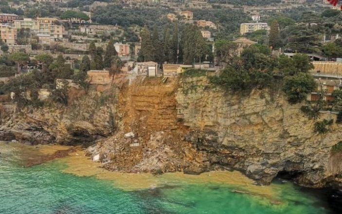 Италид хөрсний нуранги болж, 200 шарил ил гарч иржээ