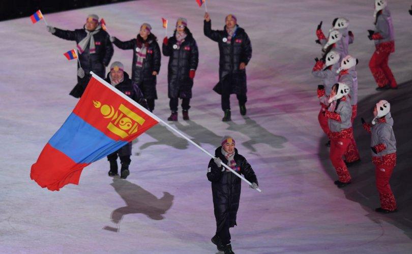 Монголын үндэсний олимпийн хороо 65 жилийн ойн логогоо танилцуулав