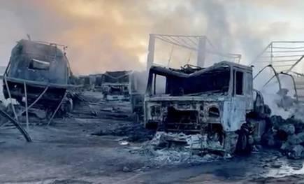 Huge-blaze-close-to-Afghanistan-Iran-border