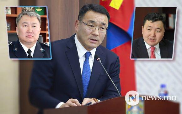 НОК-ын Шуурхай штабын дарга Ж.Сандагсүрэнг Р.Чингисээр солино