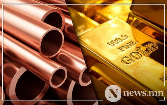 Алт, зэсийн ханш өсч, газрын тосны үнэ буурчээ