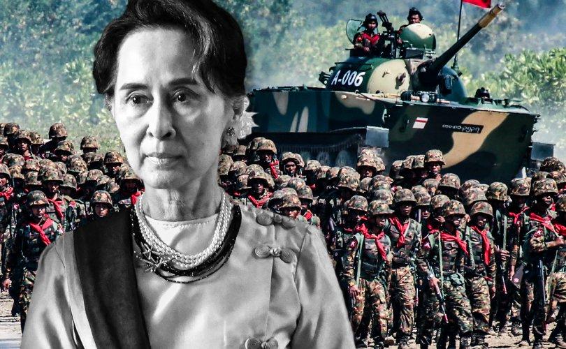 Мьянмарт цэргийн эргэлт гарч, онц байдал зарлав