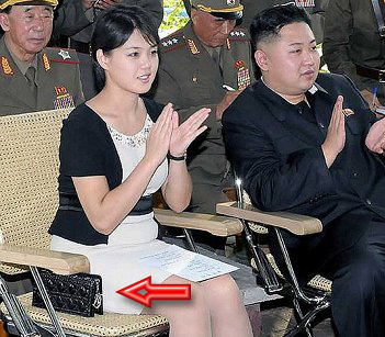 sol-ju-ri-christian-dior-hand-bag-of-mother-country-North-Korea