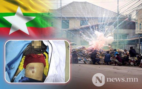 Мьянмарт долоон настай охин буудуулж амиа алдлаа
