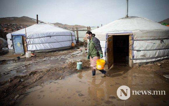 Үерт автсан айлууд орон гэрээ алдаж, эрүүл мэндээрээ хохирч байна