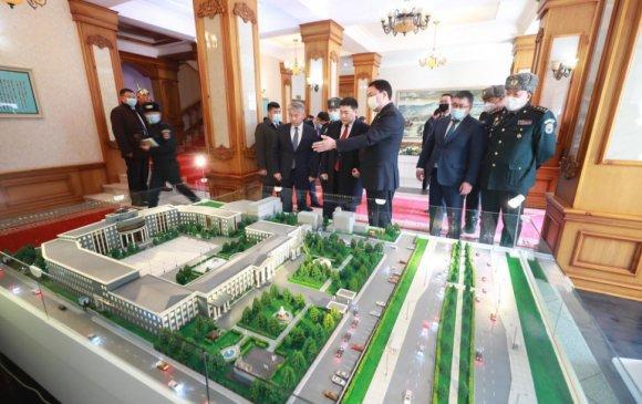 Монгол Улсын Ерөнхий сайд Л.Оюун-Эрдэнэ Батлан хамгаалах яаманд ажиллалаа