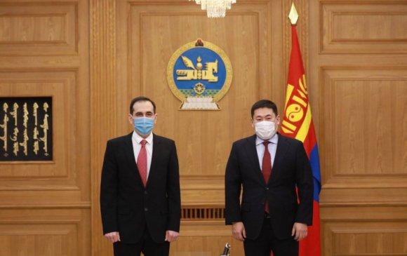 Ерөнхийсайд дэлхийн банкны суурин төлөөлөгч Андрей Михневийг хүлээн авч уулзав