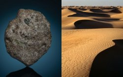 Сахарын цөлөөс дэлхийгээс хөгшин гаригийн хэлтэрхий олджээ