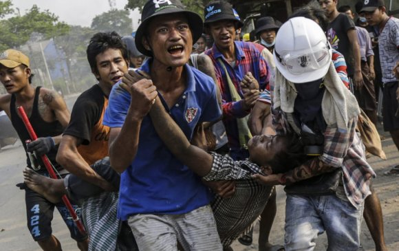 """Мьянмарын """"цуст өдөр"""""""