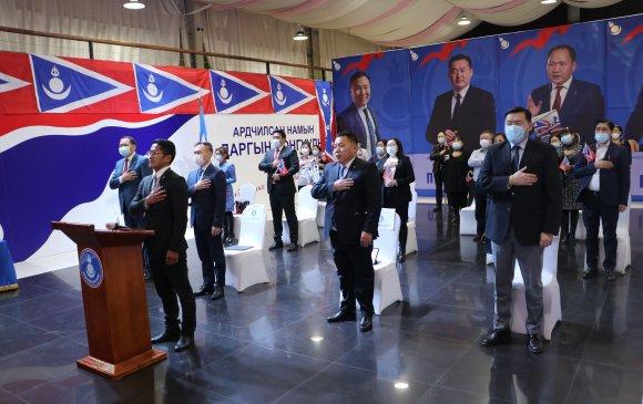 АН-ын даргад нэр дэвшигчид мөрийн хөтөлбөрөө амжилттай танилцууллаа