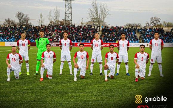 Монголын хөлбөмбөгийн шигшээ баг Тажикстаны талбайд хожигдов