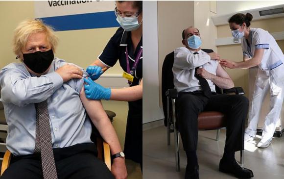 "Европын удирдагчид камерын өмнө ""AstraZeneca"" вакцин тариуллаа"