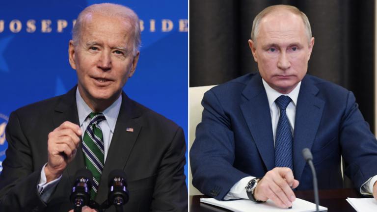 """Жо Байден: """"Алуурчин"""" Путин шангаа хүртэх ёстой!"""