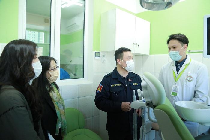 Хан-Уул дүүргийн Эрүүл мэндийн төв шүдний гажиг заслын кабинеттай боллоо