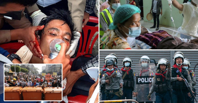 Иргэдээ буудахаас татгалзсан мьянмар цагдаа нар Энэтхэг рүү дүрвэжээ