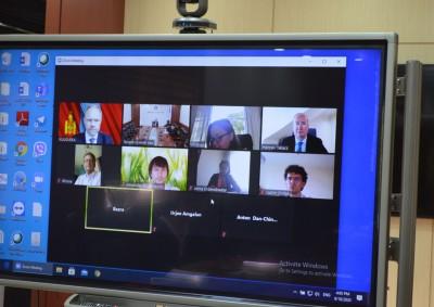 Европын сэргээн босголт хөгжлийн банкны төлөөлөгчидтэй цахим уулзалт хийлээ