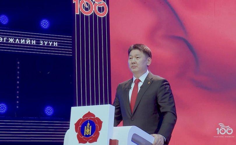 У.Хүрэлсүх: МАН-ын 100 жил тэр чигээрээ Монгол Улсын түүх билээ