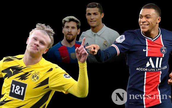 Дэлхийн хөлбөмбөгийн ирэх 10 жилийг түүчээлэх хоёр эрдэнэ