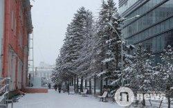 Улаанбаатарт 4 градус дулаан, цасан шуургатай