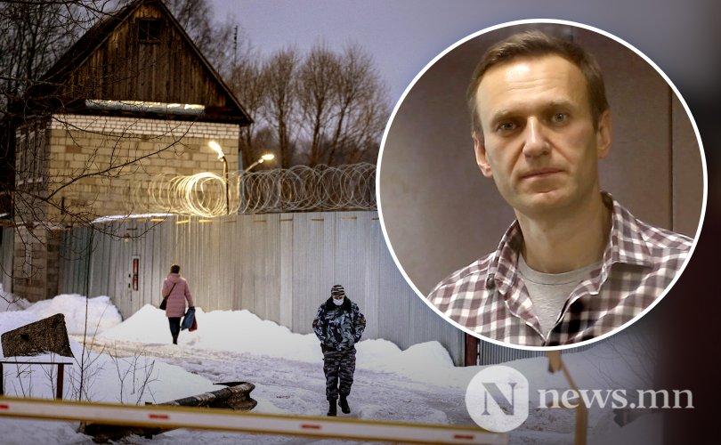 Навальный шоронд өлсгөлөн зарлажээ