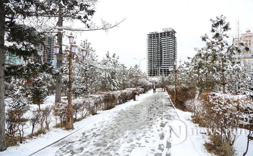 Улаанбаатарт цасан шуургатай, 0 градус орчим байна