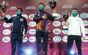 Монголын чөлөөт бөхийнхөн Ази аваргаас 10 медаль хүртэв