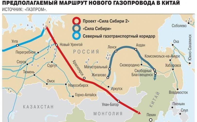 """Монголоор дайрах """"Сибирийн хүч-2""""-ын урьдчилсан ТЭЗҮ-ийг батлав"""
