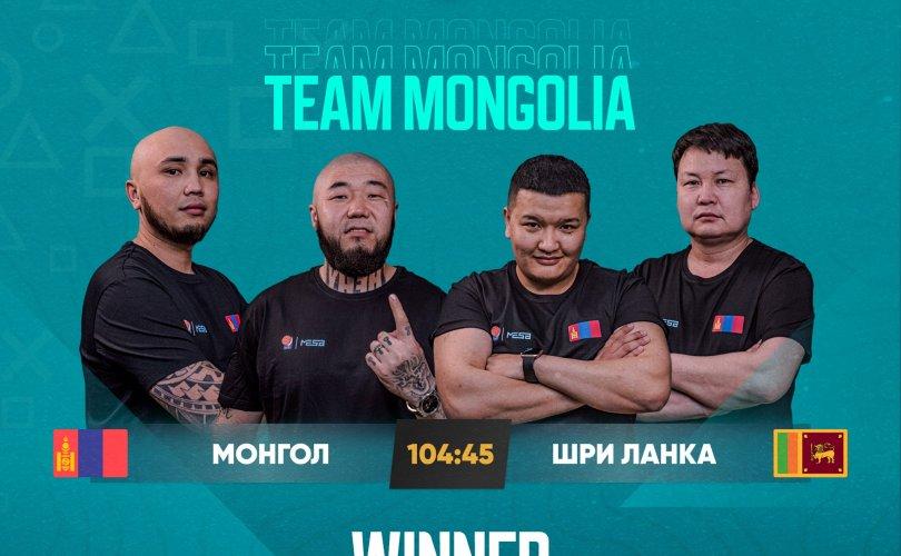 Монголын esports-ийн баг тэмцээнээ өндөрлүүллээ