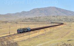 УБТЗ хүнд жинтэй, урт бүрэлдэхүүнтэй галт тэрэг туршилтаар аялууллаа