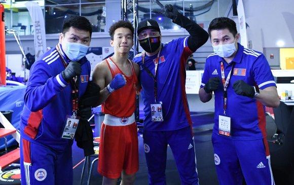 Боксын шигшээ багийн 2 тамирчин хүрэл медалийн болзол хангав