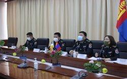 БНЭУ-ын Батлан хамгаалах яамтай цахим зөвлөлдөх уулзалт хийв