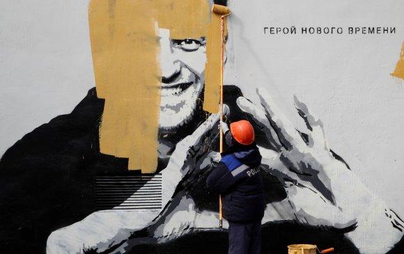 Санкт Петербург дэх Навальныйн хөргийг арилгажээ
