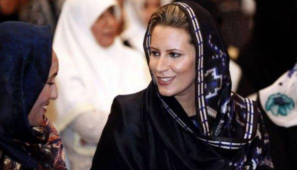 Каддафийн охиныг хоригийн жагсаалтаас хасчээ