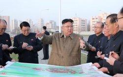 Ким Жон Ун 50 мянган айлын орон сууц барих төслийн ажилдаа орлоо