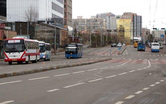 98 чиглэлд 859 автобус үйлчилгээнд явж байна