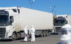 Улаанбаатар хотоос гарах ачаа тээврийг зогсоожээ
