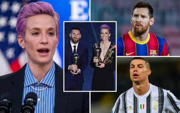 Меган Рапино: Месси, Роналдо хоёр нийгэмдээ нөлөөлөөсэй