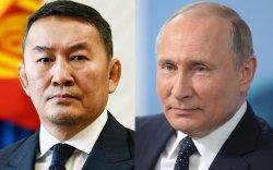 Ерөнхийлөгч Х.Баттулга ОХУ-ын Ерөнхийлөгч В.В.Путинтай утсаар ярилаа