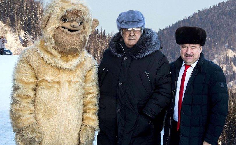 Алтайн уулсад жуулчин татах гэж хуурамч алмас ажиллуулдаг байжээ