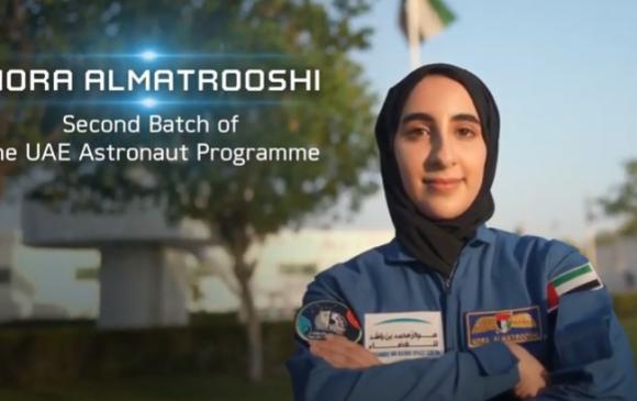 Араб анхны эмэгтэй сансрын нисэгчээ танилцууллаа