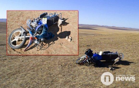 Хятад мотоцикль аюул тээсээр байна