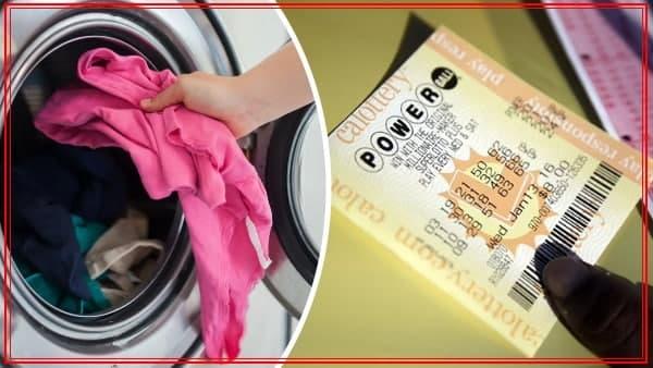 26 сая доллар хожсон сугалаагаа угаалгын машинд угаажээ