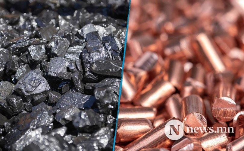 Зэсийн баяжмалын экспорт буурч, нүүрсний экспорт нэмэгджээ